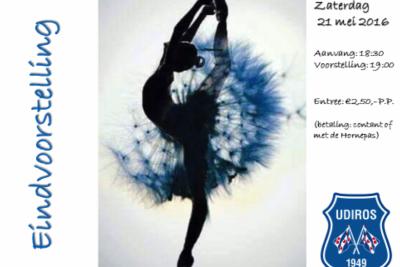 Gymnastiek - Dansvoorstelling (19:00 uur)