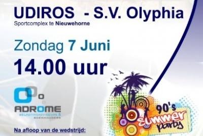 UDIROS - Olyphia Promotiewedstrijd 2e klas (2e ronde)