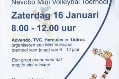 Cool Moves Volleybaltoernooi (mini's)