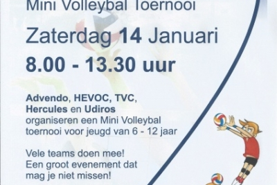 Cool Moves Volleybaltoernooi (tot 13:30 uur)